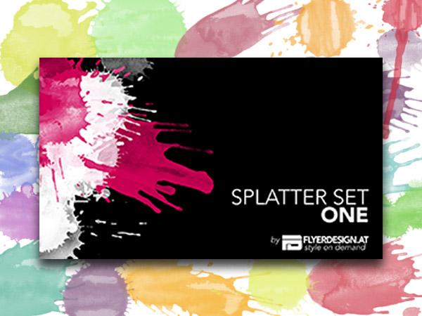 Splatter Brushes PS