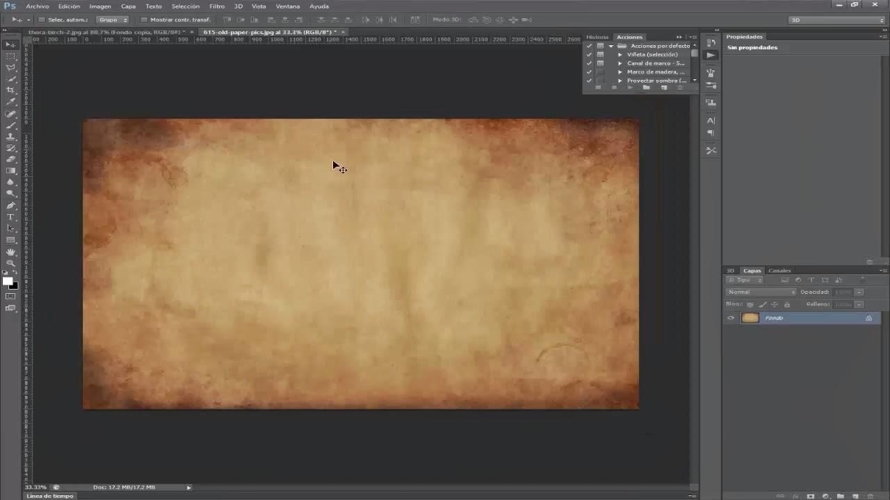 Textura papel
