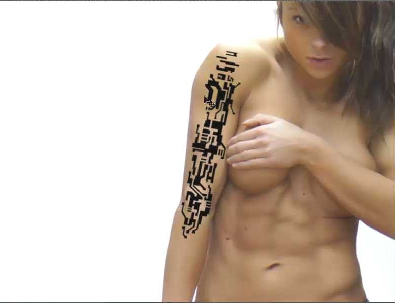 tatuaje posicionado