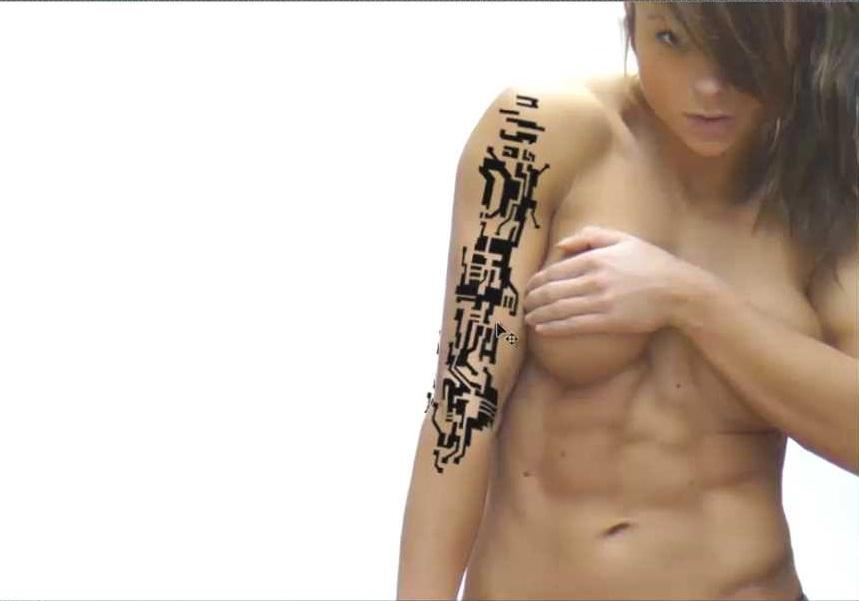 tatuaje adaptado a la piel