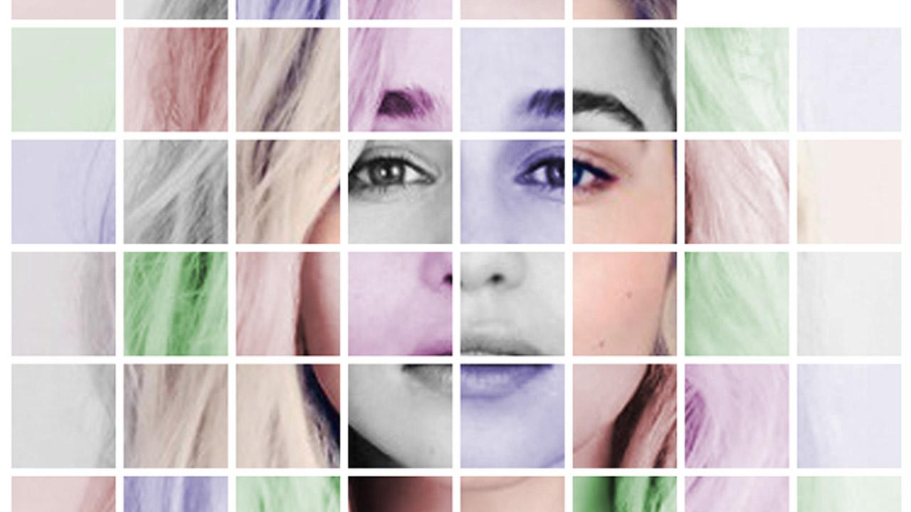Efecto de Cuadricula de Colores