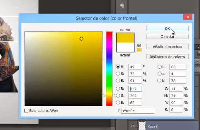 seleccionar color de pincel
