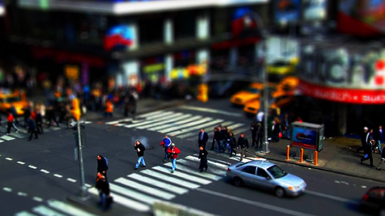 Efecto Miniatura o Tilt Shift Tutorial