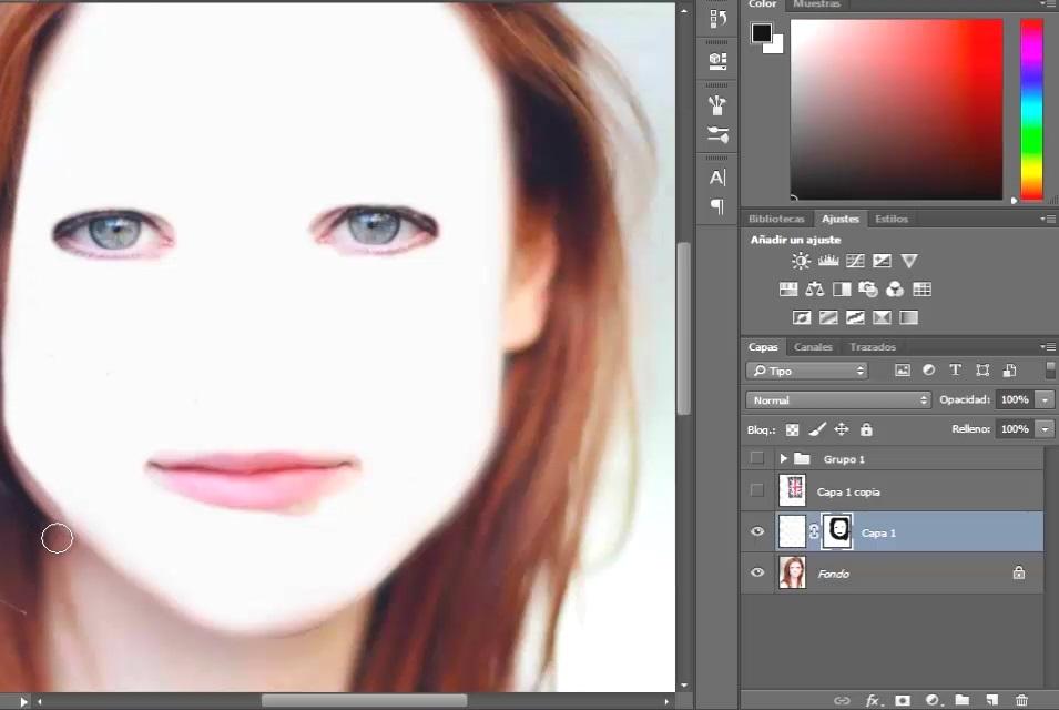 brillo contraste aplicado