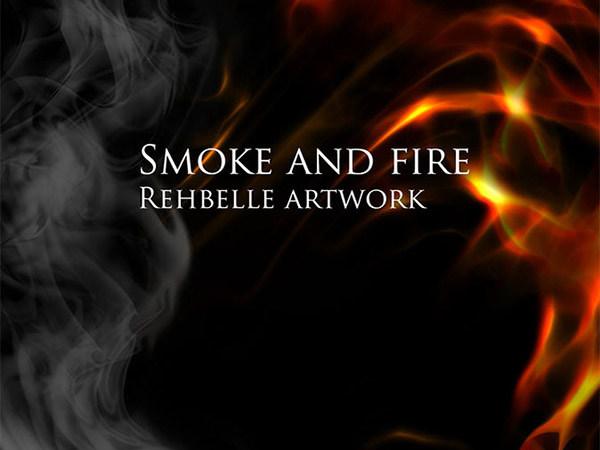 9 Smoke & Fire Brushes