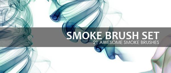 21 Awesone Smoke Brushes For Photoshop