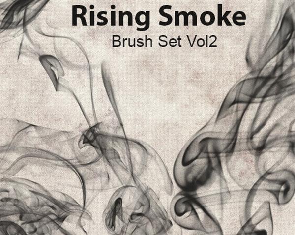 3 Hi-Resolution Rising Smoke Brushes