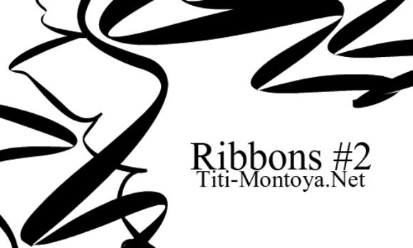 Ribbons Brushes by Titimontya Brushes