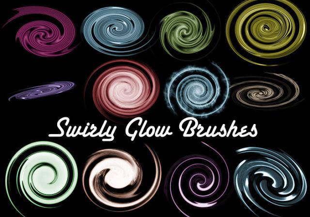 Swirl Glow Brushes