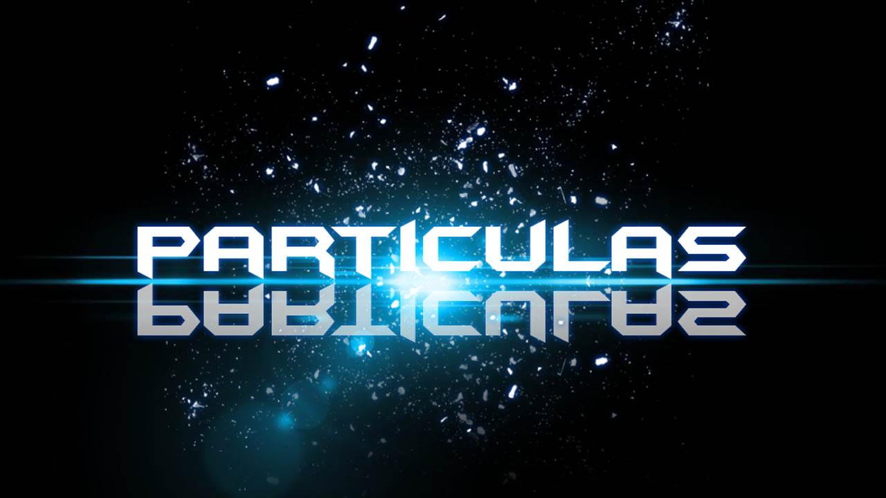 Texto con Efecto de Partículas
