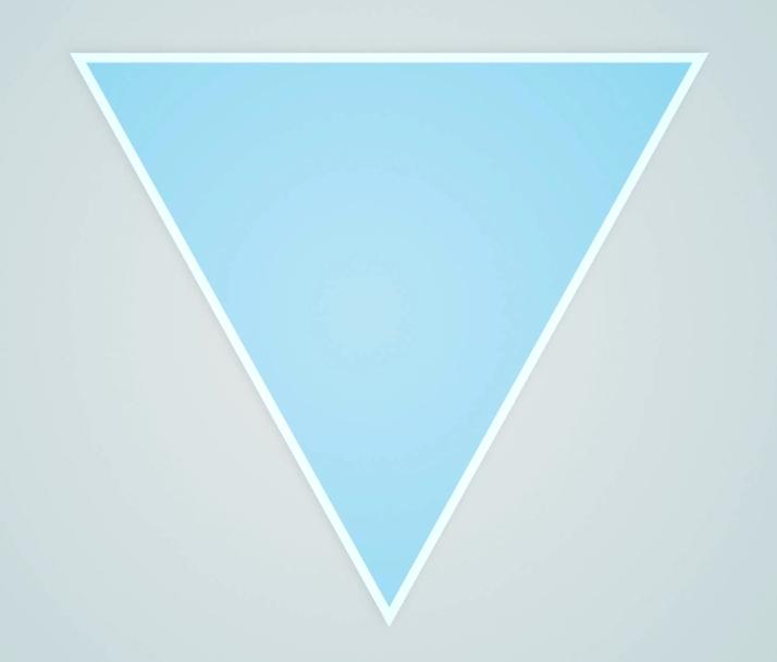 logo con imagen y texto triangulo con fondo