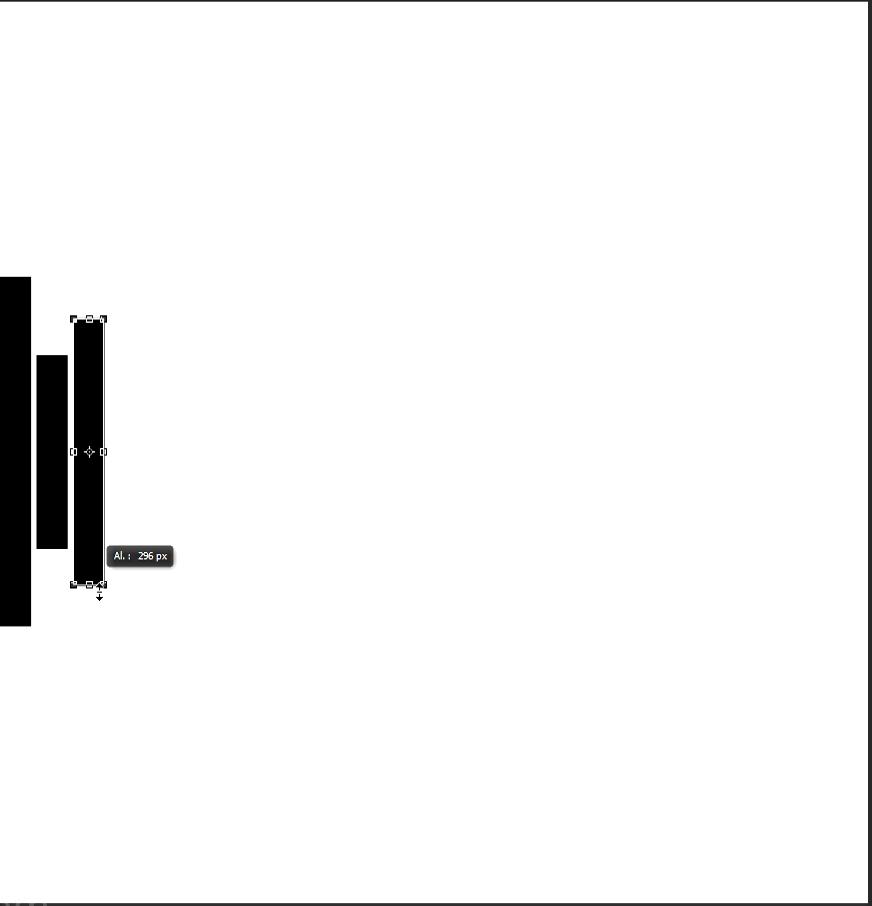 crear rectángulos con herramienta de rectángulo