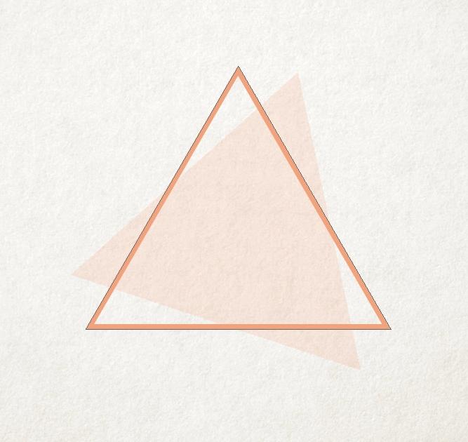 triangulo con relleno